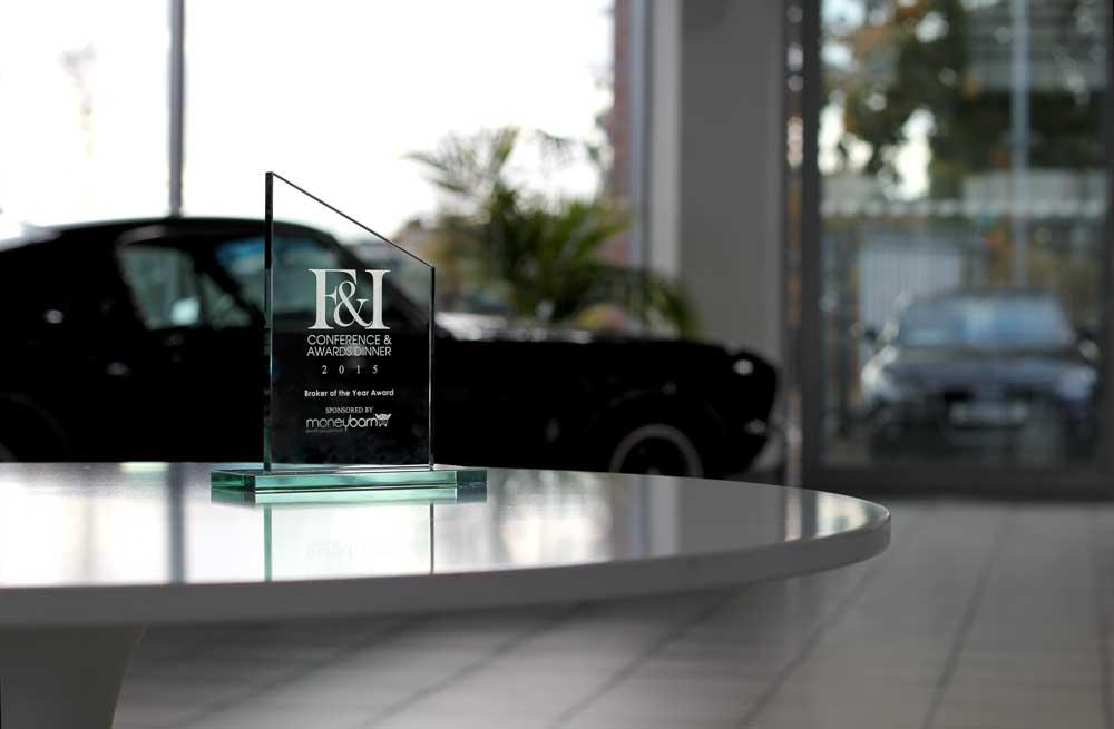 F&I Broker of the Year Award 2015