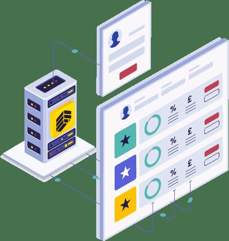 Comparison API illustration