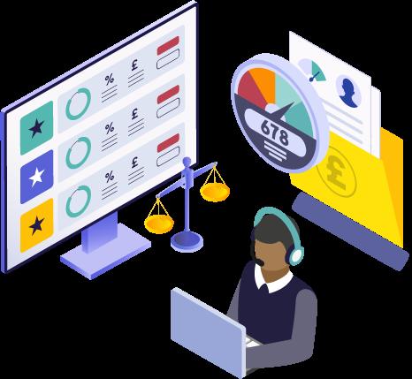 marketplace integrations - comparison site credit score providers white label customer service