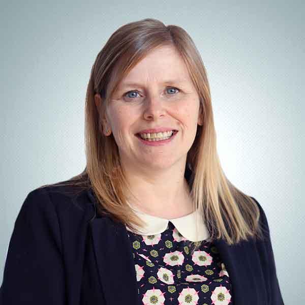 angela larkin head of HR evolution funding