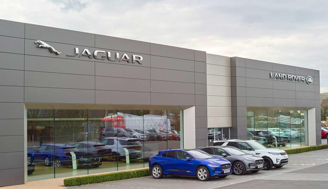 Car Showroom exterior